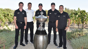 Pagenaud, Power, Dixon, Newgardn y Castroneves