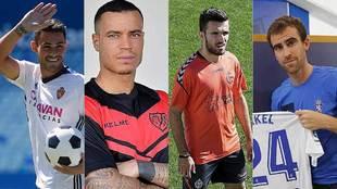 Vinicius Araujo, Raúl de Tomás, Gianniotas y MIkel González