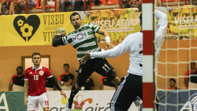 Carlos Ruesga, en un partido de la Liga portuguesa