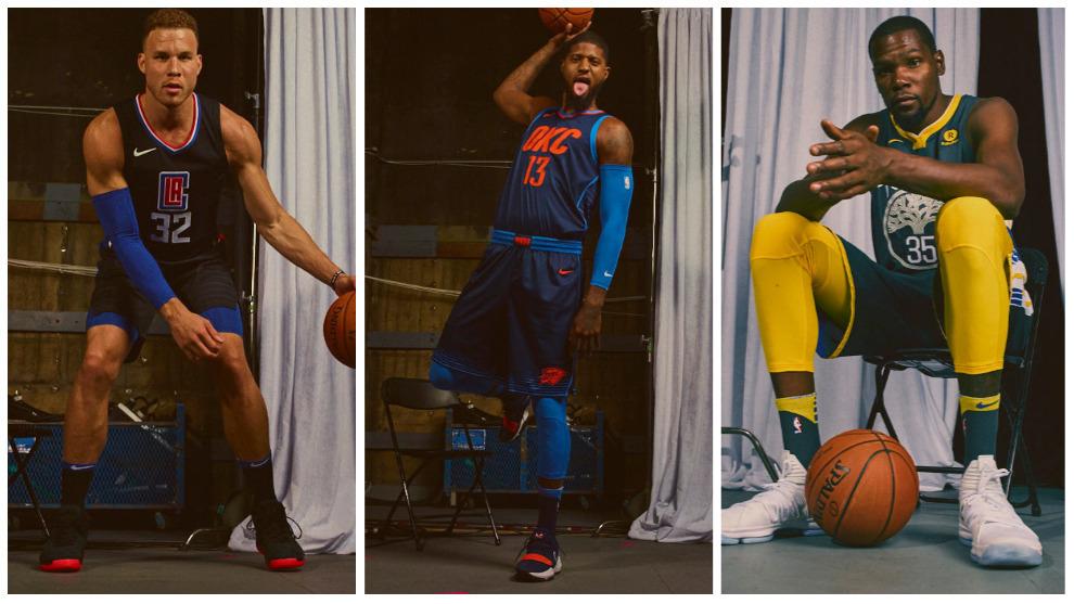 buy popular cace5 a6140 ... Conoce las nuevas camisetas de la NBA así vestirán los 30 equipos