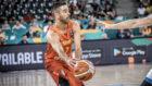 Navarro durante un partido de este Eurobasket contra la Rep�blica...