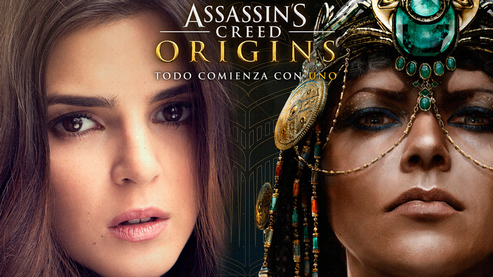 Clara Lago pone voz a Cleopatra en 'Assassin's Creed Origins'