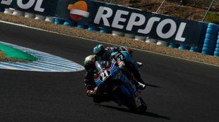 Alonso L�pez, en Jerez.