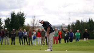 Manu Ballestero durante  el XXX Campeonato de la PGA España