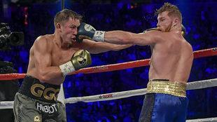 El combate en Las Vegas