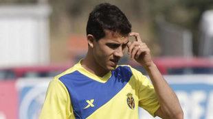 Nilmar, en su etapa en el Villarreal
