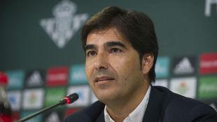 Ángel Haro, durante una rueda de prensa reciente.