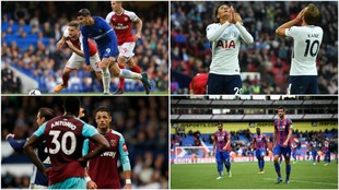 Chelsea, Arsenal, Tottenham, West Ham y Crystal Palace no pudieron...