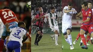 Lugo y Zaragoza, Córdoba y Tenerife y Numancia y Sporting vuelven a...
