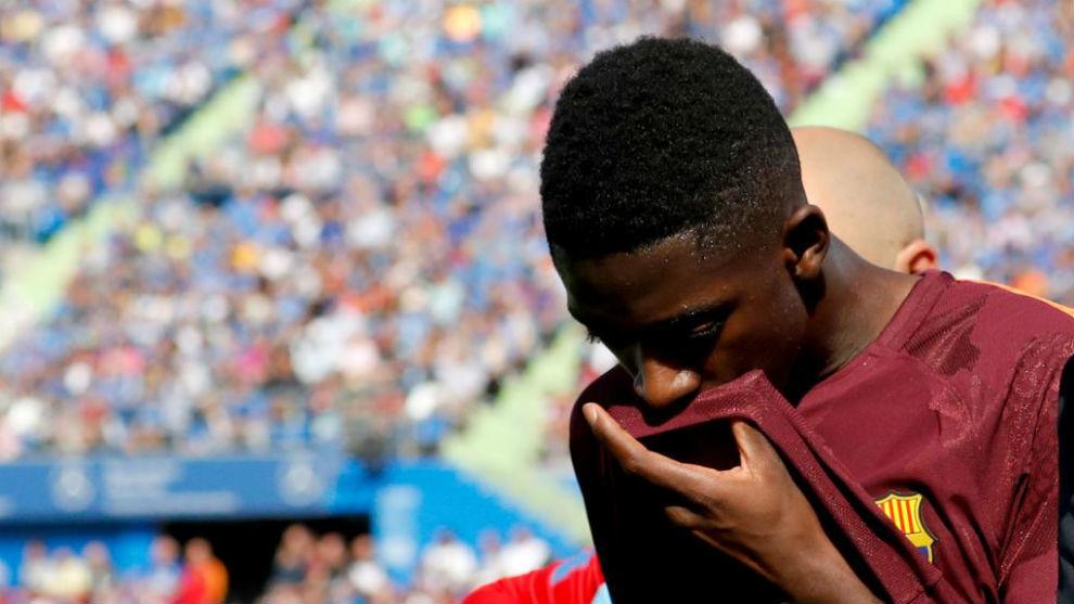 El Barcelona se ahorrará 10 millones de euros por la lesión de Dembélé