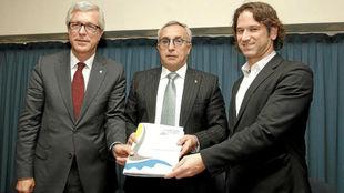 Josep Felix Ballesteros, alcalde de Tarragona, Alejandro Blanco,...