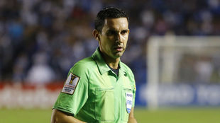 Ramos en un duelo de la Concachampions.