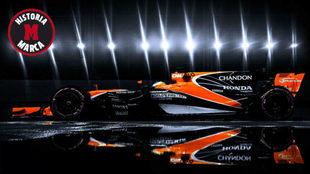 Alonso, durante el pasado GP de Singapur.