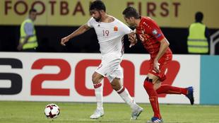 Diego Costa, contra Macedonia.