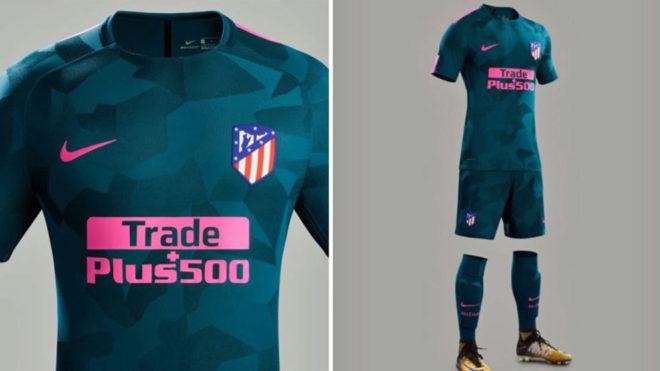 segunda equipacion Atlético de Madrid modelos