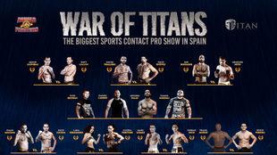 Cartel del War of Titans.