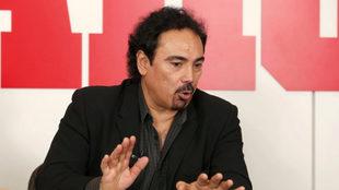 Hugo Sánchez, durante una entrevista con MARCA.