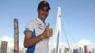 Mario Mola en la Gran Final de las Series de Triatlón de Rotterdam...