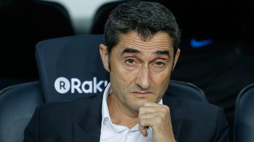Valverde, durante el partido frente al Eibar