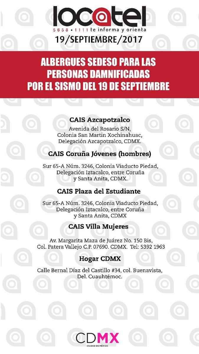 Sismo en México: México se ha demostrado ser un país muy fuerte ...