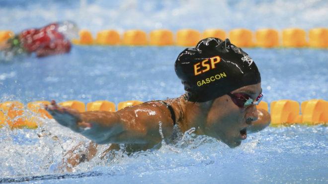 Sarai Gascón, en los Juegos de Río.