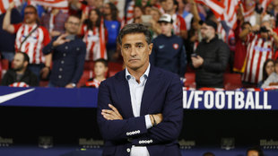 Míchel, preocupado tras la derrota ante el Atlético de Madrid