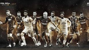 Los 9 jugadores españoles nominados