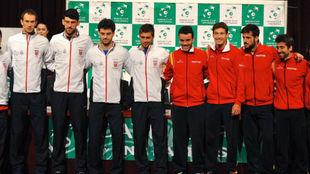 El equipo croata y el español