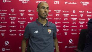 Presentación de Guido Pizarro con el Sevilla