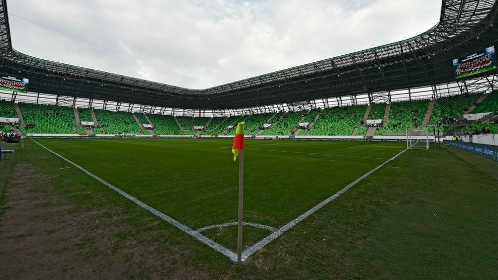 El Ferencváros Stadium en una imagen de archivo.