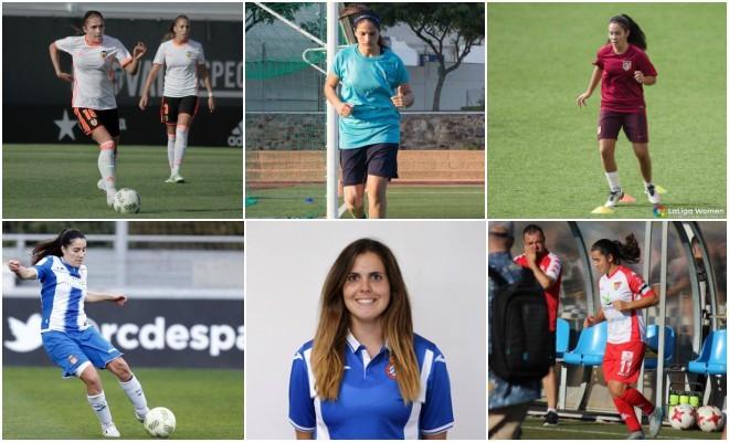 Natalia Gaitán, Bárbara Santibáñez, Ainoa Campo, Estíbaliz...