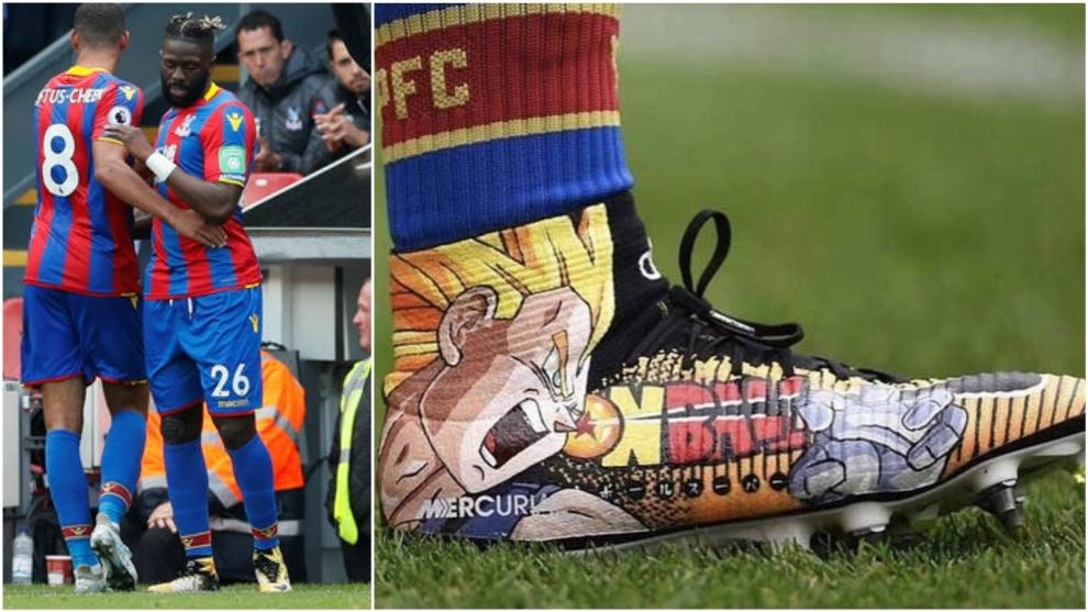 Bakary Sako revolucionó las redes con sus botines Nike de Dragon Ball