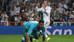 Bale se lamenta de una ocasión fallada