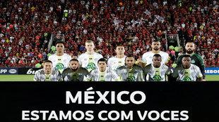 Chapecoense mostró su apoyo.