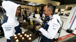 Paddy Lowe, en Monza