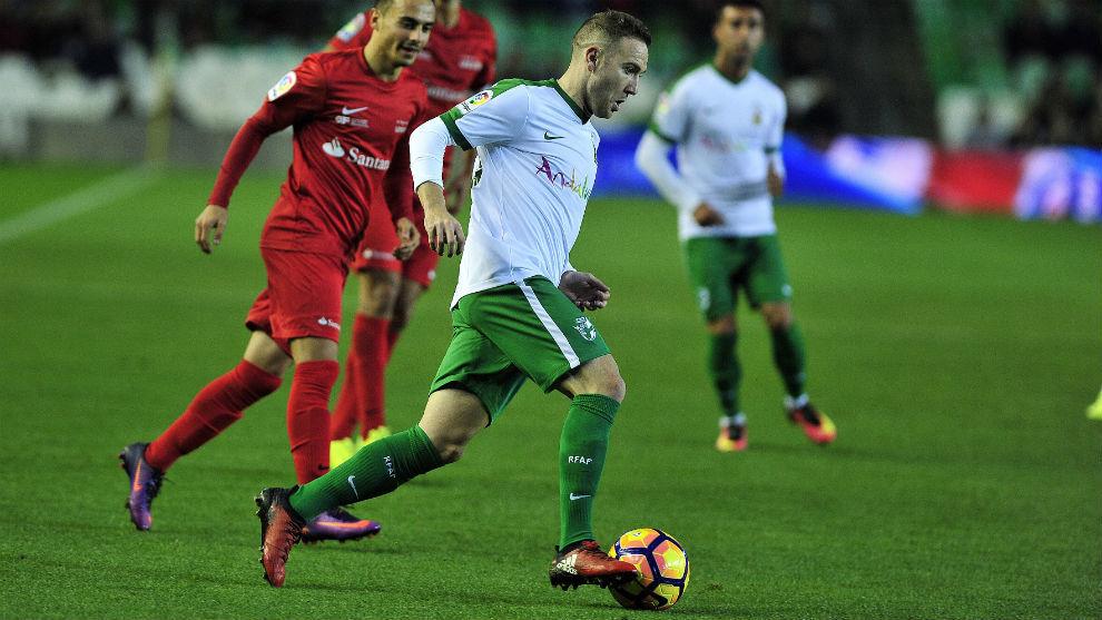 Diego Capel, con la selección andaluza.