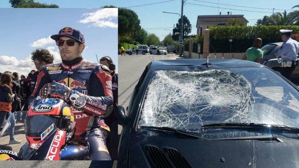 Hayden y el coche que le atropelló