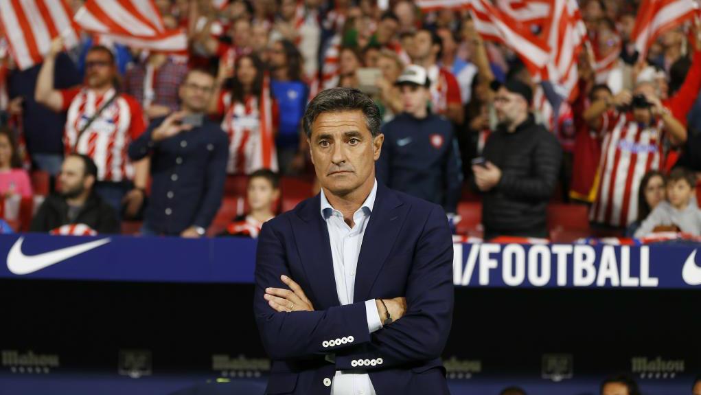 Míchel, en el estreno del Wanda Metropolitano