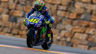 Rossi en Aragón