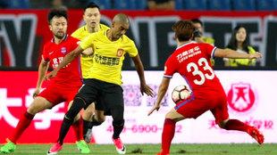 partido entre el Guangzhou Evergrande y el Chongqing Dangdai Lifan