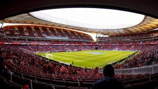 Imagen del Wanda Metropolitano el día de su estreno.