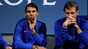 Rafa Nadal y Thomas Berdych