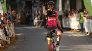 Jaime Castrillo durante su etapa en el Lizarte.
