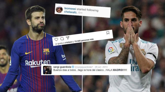 Piqué, Isco... Los otros líos de los jugadores en redes sociales