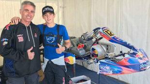 Mick y Jack Doohan, juntos en un día de carreras