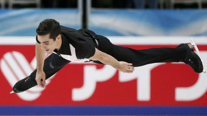 Javier Fernández, en una competición.