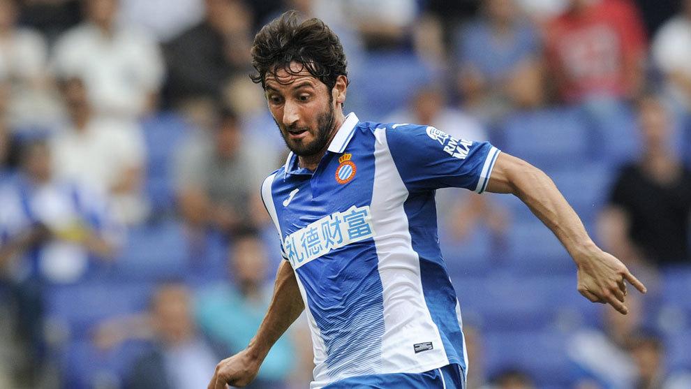 Esteban Granero, jugador del Espanyol, vuelve a la convocatoria.