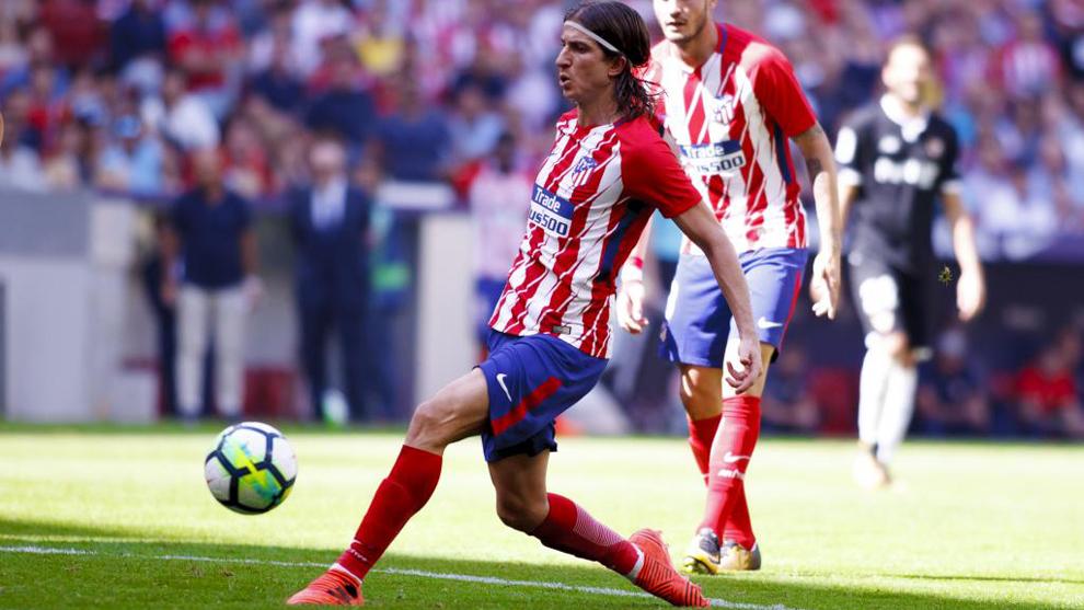 Filipe, contra el Sevilla.