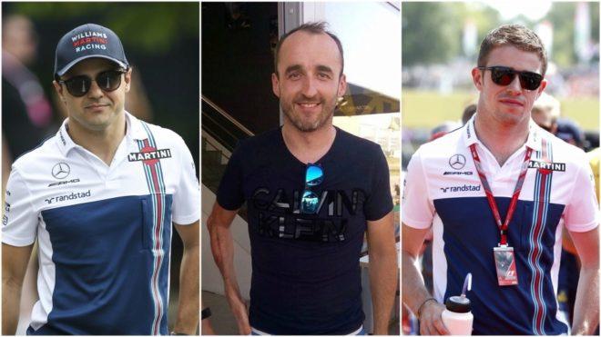 Massa, Kubica y Di Resta.