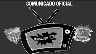 Imagen que ha utilizado el CF Fuenlabrada para emitir su comunicado